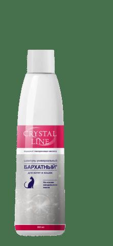 CRYSTAL LINE. MAYIN ® . Universal shampuni barcha zotlardagi mushuklar va itlarga qo'llaniladi.